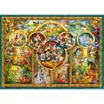 Puzzle  Ravensburger-15266 Les plus beaux thèmes de Disney