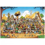 Puzzle  Ravensburger-15434 Photo de famille Astérix