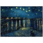 Puzzle  Ravensburger-15614 Van Gogh Vincent : Nuit étoilée