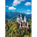 Puzzle  Ravensburger-15755 Le Château de Neuschwanstein en automne