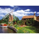Puzzle  Ravensburger-15786 Moulin à vent pittoresque