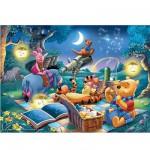 Puzzle  Ravensburger-15875 Winnie l'Ourson : Observation des étoiles
