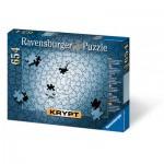 Puzzle  Ravensburger-15964 Crypté en argent