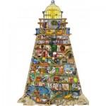 Puzzle  Ravensburger-16098 Colin Thompson - Phare Merveilleux
