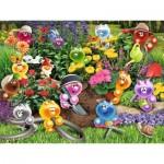 Puzzle  Ravensburger-16260 Gelini : Jardinage