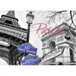 Puzzle  Ravensburger-16296 My Paris