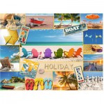 Puzzle  Ravensburger-16307 Happy Holiday