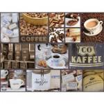 Puzzle  Ravensburger-16611 Pause café