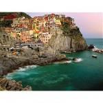 Puzzle  Ravensburger-16615 Cinque Terre, Italie
