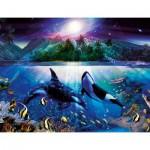 Puzzle  Ravensburger-16661 Les mystères du monde sous-marin