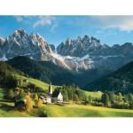Puzzle  Ravensburger-16674 Italie : Les Dolomites