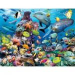 Puzzle  Ravensburger-16682 Underwater