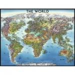 Puzzle  Ravensburger-16683 Carte du Monde