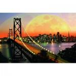 Puzzle  Ravensburger-17039 San Francisco la nuit