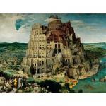 Puzzle  Ravensburger-17423 Brueghel : La construction de la Tour de Babel