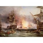 Puzzle  Ravensburger-17806 Le bombardement d'Alger