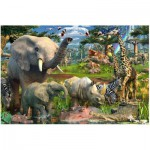 Puzzle  Ravensburger-17823 Au point d´eau