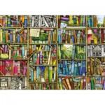 Puzzle  Ravensburger-19137 Colin Thompson: Bibliothèque Magique