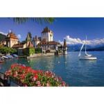 Puzzle  Ravensburger-19139 Suisse, Berne : Lac de Thoune