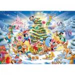 Puzzle  Ravensburger-19287 Noël avec Disney