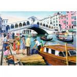 Puzzle  Ravensburger-19476 Vintage Venise