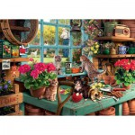 Puzzle  Ravensburger-19552 Is he watching ?