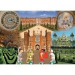 Puzzle  Ravensburger-19582 Historic Royal Palaces - Hampton Court Palace