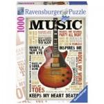 Passion pour la Musique 1000 pièces - Ravensburger