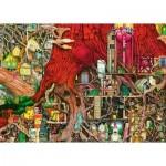 Puzzle  Ravensburger-19644 Colin Thompson: Monde Caché