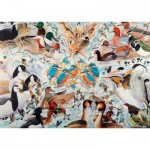 Puzzle  Ravensburger-19649 Water Birds
