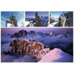 Puzzle  Ravensburger-19671 Mont Blanc