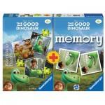 Ravensburger-21194 3 Puzzles +Memory - The Good Dinosaur
