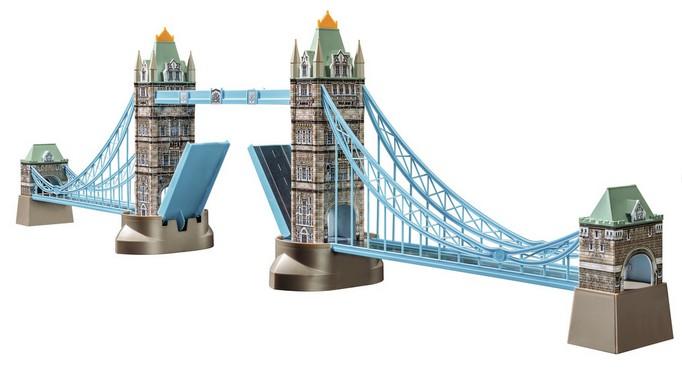 Tower bridge londres 216 pi ces puzzle en 3d for Piece 3d en ligne