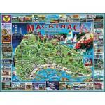 Puzzle  White-Mountain-468 Mackinac Island, Michigan, USA