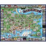 Puzzle  White-Mountain-863 Newport