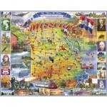 Puzzle  White-Mountain-997-1036 L'état du Missouri