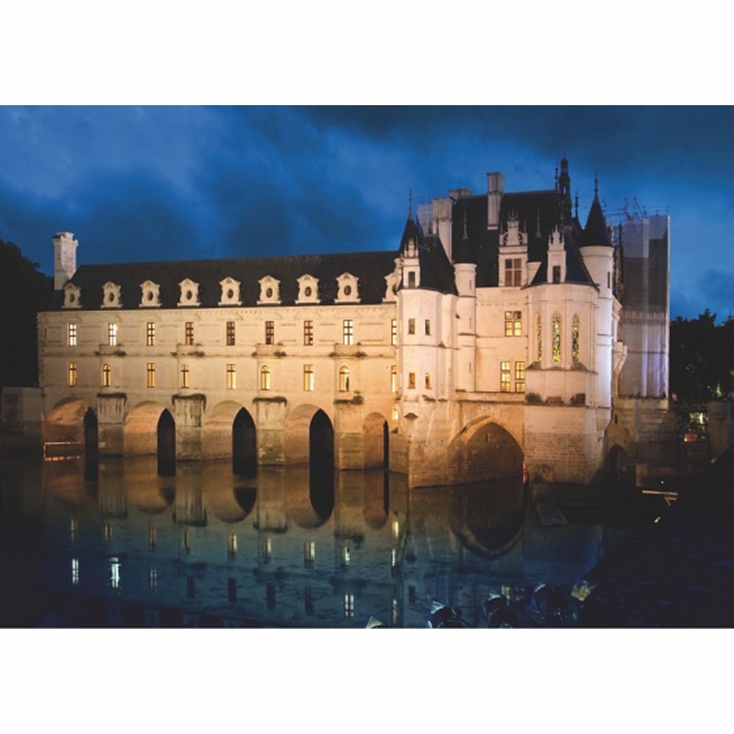 ch teau de france ch teau de chenonceau 1000 teile. Black Bedroom Furniture Sets. Home Design Ideas