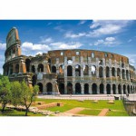 Puzzle  DToys-50328-AB07 Italie - Rome : Colisée