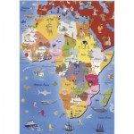 Puzzle  Dtoys-50663-MP-04 Carte de l'Afrique