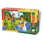 Puzzle  Dtoys-60402-PV-04 Pièces XXL : Hansel et Gretel