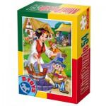 Dtoys-60471-PV-05 Mini Puzzle : Blanche Neige et les 7 Nains