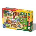 Puzzle  Dtoys-60488-PV-04 Pièces XXL : Blanche Neige et les 7 Nains