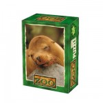 DToys-60556-ZO08 Mini Puzzle - Lion de mer