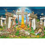 Puzzle  DToys-61218-CC02 Cartoon Collection - Stonehenge