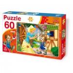 Puzzle  Dtoys-61478-BA-02 Contes et Légendes : Pinocchio