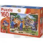 Puzzle  Dtoys-61515-BA-01 Contes et Légendes : Le Chat Botté
