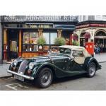 Puzzle  DToys-62154-EC02 Royaume Uni - Londres : Voiture ancienne à l'arrêt