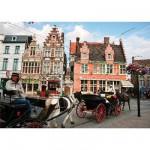 Puzzle  DToys-62154-EC08 Belgique - Gent