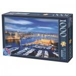 Puzzle  Dtoys-62154-EC16 Port de Marseille, France