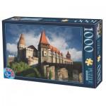 Puzzle  Dtoys-63038-MN12 Château de Hunedoara, Château des Corvin - Roumanie
